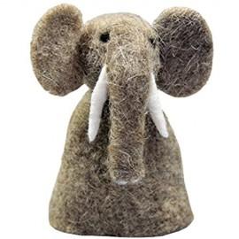 Eierwärmer aus Filz [ Elefant ] für den fröhlichen Frühstückstisch Tischdeko