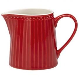 Porzellan-Milchkännchen Alice Red von GREENGATE