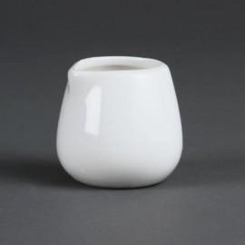Milchkännchen Weiß 45ml 12Stück
