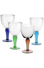 4 X Eisschale Dessertschale Eisbecher Glas Campania 4 Farbig 22 5 cm Gelato Vero