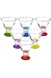 Eisschale Dessertschale Eisbecher Glas Spring Gelb 255 ml Gelato Vero