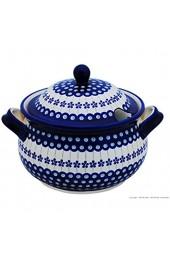 Original Bunzlauer Keramik Suppenterrine 4.5 Liter im Dekor 166a