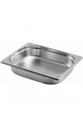Saro BASIC Line Gastronormbehälter 1/2 GN Perforiert Tiefe 100mm