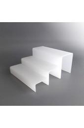 lobotec-acryl Buffet Podest Set Snow Stairs Plexiglas Acrylglas