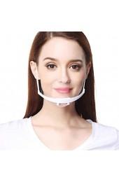 Tankaa Women Menable Gesichtsbedeckungen UK Transparent Plastic Chef Kitchen Service Gesichtsbedeckung einstellbare Länge Socialance 30 STK