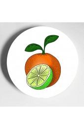 Köstliche leuchtend orange Teller Dekor hübsche Keramikplatten Home Wobble-Platte mit Display Stand Dekoration Haushalt Dekor Party Teller