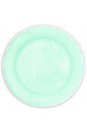 GreenGate - Teller Frühstücksteller Kuchenteller - HELLE - Keramik - hellblau - D: 20 5 cm