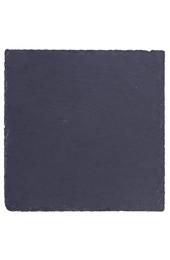 Cabilock Schwarz Quadrat Schiefer Käse Board Natürliche Schiefer Käse Platten Solide Stein Tablett für Küche Esszimmer Party Unterhaltung Größe 1