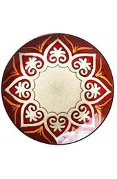 ZXXYTA Keramikplattenschalen Unterglasurfarbtafeln im europäischen Stil kreative handbemalte Ofenteller (8 5 Zoll) Decorations