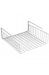 Southern Homewares unter Regal Korb Draht Wrap Rack Lagerung Organizer für Küche Anrichte 12–1/2by 12–1/2von 12 7cm Weiß