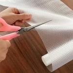Funwill Rutschfeste Matte für Regale aus EVA transparent nicht klebend
