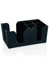 Bar-Caddy aus ABS Kunststoff - passend für Servietten 12 5 x 12 5 cm / Abm.: 24 x 15 x 11 cm